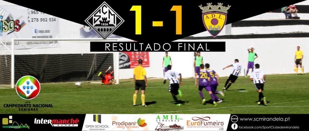 SC Mirandela 1-1 AD Limianos